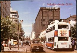 LA MODERNA AV. RIO AMAZONAS DE QUITO ECUADOR EQUATEUR SALUDOS DESDE QUITO FOT PAZMINO - Ecuador