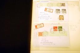 BRD Rollenmarken Briefe Sammlung - Deutschland