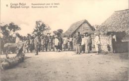 Belgian Congo Stationery - Donkey - Mule - Timbres