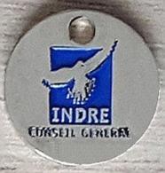 Jeton De Caddie  Conseil  Général  INDRE  Verso  1 €  ( 36 ) - Jetons De Caddies