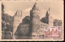 BELGIUM  1951 ISSUE COB 872 BEERSEL MC - Maximum Cards