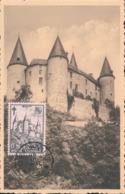 BELGIUM  1951 ISSUE COB 875 CELLES MC - Maximum Cards