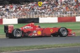 Autogrammkarte - Michael Schumacher Im Ferrari - Grand Prix / F1