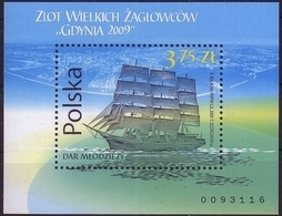Poland 2009 M Dar Mlodziezy Rally Of Sailing Ships Gdynia Mini Sheet MNH** - 1944-.... République