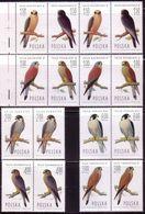 POLAND 1975 MI 2354 - 2361, Falkons Pair And Strip,  Peregrine Falcon, Hawk **MNH - Eagles & Birds Of Prey