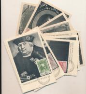BELGIUM  1952 ISSUE UPU COB 880/891 SET MC - Maximum Cards