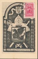 BELGIUM  1952 ISSUE MALMEDY COB 904 MC - Maximum Cards
