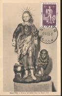 BELGIUM  1952 ISSUE ST VITH COB 907 MC - Maximum Cards