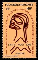 POLYNESIE 1993 - Yv. 438 **   Faciale= 1,18 EUR - Colloque Sur Le Volcanisme  ..Réf.POL24640 - Polynésie Française
