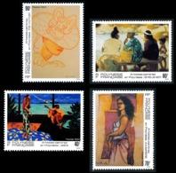 POLYNESIE 1993 - Yv. 445 446 447 Et 448 **   Faciale= 2,35 EUR - Artistes Peintres En Polynésie (4 Val.)  ..Réf.POL24645 - Polynésie Française