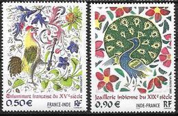 France 2003 N° 3629/3630 Neufs France Inde à La Faciale - Francia