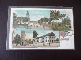 Gruss Aus Immert Bernkastel Wittlich Litho Ca. 1905 ? - Bernkastel-Kues