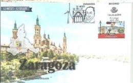 FDC ESPAÑA  2019 ZARAGOZA  FRANCISCO DE GOYA - Arte