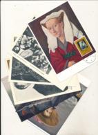 BELGIUM  1958 ISSUE BELGIAN PAINTING COB 1076/81 MC - Maximum Cards
