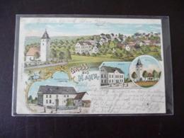 Gruss Aus Hahn Altlay Litho 1906 Cochem - Cochem