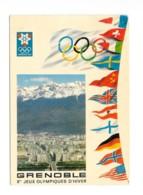 CPSM / CPM 38 - Grenoble Jeux Olympiques D'hiver - Secap 40e Championnat D'échecs - Grenoble