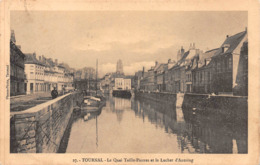 Tournai - Le Quai Taille-Pierres Et Le Luchet D'Antoing - Tournai