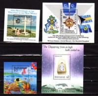 Bahamas 1994-95, Poissons, Fin 2° Guerre, F.A.O., Noël, Entre 833 Et 863**+ BF 64 Et BF 72/74**, Cote 84 €, - Bahama's (1973-...)