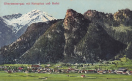 Oberammergau * Mit Notspitze Und Kofel, Gesamtansicht, Alpen * Deutschland * AK1740 - Oberammergau