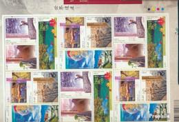 Hongkong 1125-1130 Zd-Bogen (kompl.Ausg.) Postfrisch 2003 UNESCO Welterbe - 1997-... Région Administrative Chinoise