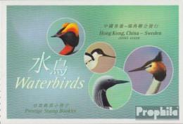 Hongkong 1113-1116MH (kompl.Ausg.) Markenheftchen Postfrisch 2003 Wasservögel - 1997-... Région Administrative Chinoise