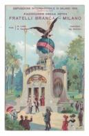 CARTOLINA POSTALE Fratelli Branca Esposizione Internazionale Milano 1906 - Pubblicitari