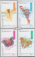 Hongkong 857-860 (kompl.Ausg.) Postfrisch 1998 Drachen - 1997-... Région Administrative Chinoise