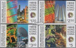 Hongkong 826-829 (kompl.Ausg.) Postfrisch 1997 Treffen Der Weltbanken - Nuevos
