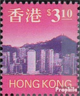 Hongkong 810C Postfrisch 2001 Freimarken: Skyline - 1997-... Région Administrative Chinoise