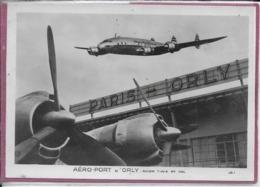 AERO-PORT D' ORLY - Avion T.W.A. En Vol - 1946-....: Era Moderna