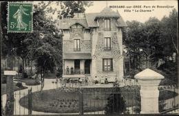 Cp Morsang Sur Orge, Parc De Beauséjour, Villa Le Charme - France