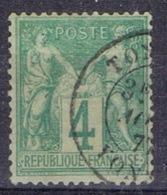 DO 15106 FRANKRIJK GESTEMPELD  YVERT NR 63 ZIE SCAN - 1876-1878 Sage (Type I)