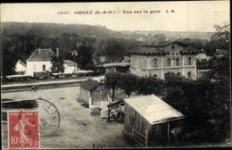 Cp Orsay Essonne, Vue Sur La Gare - France