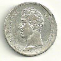 5 F CHARLES X 1826 L - Frankrijk