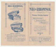 NEO-RHOMNOL Du Dr M.Leprince - Publicidad