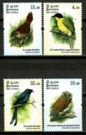 Sri Lanka 2017 Ceylán / Birds MNH Vögel Aves Oiseaux Uccelli / Cu14912  1-6 - Pájaros