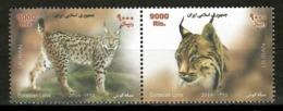 Iran 2016 / Mammals Lynx MNH Mamiferos Felinos Lince / Cu14908  1-3 - Felinos