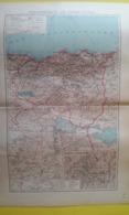 CARTE DU DÉPARTEMENT DE CONSTANTINE Avec Plan De Constantine Et Ses Environs1930 - Carte Geographique