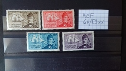 AFRIQUE EQUATORIALE FRANCAISE - A.E.F. (1936-1958)