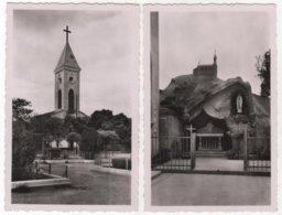 ALGERIE BURDEAU église Et Grotte De Notre Dame De Lourdes Lot De 2 - Autres Villes