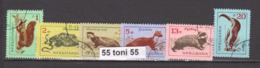 1963 Fauna ANIMALS Mi 1377/82  6v.-used(O) Bulgaria/Bulgarie - Sellos