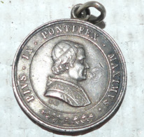 Médaille, Causa Nostrae Laetitiae ÉTATS DU PAPE - PIE IX - Religion & Esotérisme