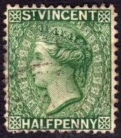 St Vincent 1884 1/2d SG42 - Used - St.Vincent (...-1979)
