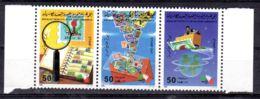 24.10.1985; Tag Der Briefmarke; Mi-Nr. 1615 - 1617, Postfrisch; Los 52045 - Libia