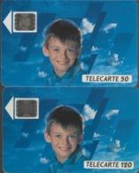 FRANCE - 50 Unités Et 120 Unités - ERE DE LA COMMUNICATION  - Télécartes Utilisées - Frankrijk