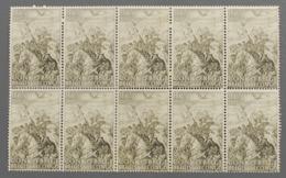 N° 274 - 1947 - 1,25 Fr - Bloc De 10 Timbres Neufs - - 1947-60: Ungebraucht