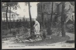 CPA 21 - Semur, La Fontaine Eugénie - Semur