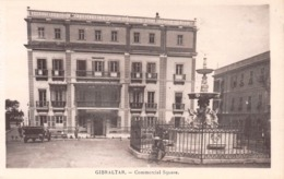 GIBRALTAR - COMMERCIAL SQUARE ~ AN OLD POSTCARD #99303 - Gibraltar