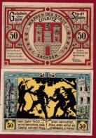 Allemagne 1 Notgeld 50 Pfenning  Stadt Colditz Dans L 'état Lot N °5110 - [ 3] 1918-1933 : Repubblica  Di Weimar
