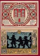 Allemagne 1 Notgeld 50 Pfenning  Stadt Colditz Dans L 'état Lot N °5111 - [ 3] 1918-1933 : Repubblica  Di Weimar